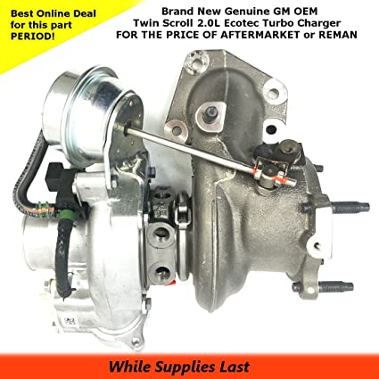 GM 12658317 Turbocharger