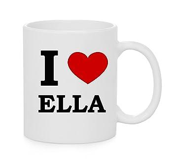f09fdac9ef1386 I Heart Ella (Love) Official Mug  Amazon.co.uk  Kitchen   Home