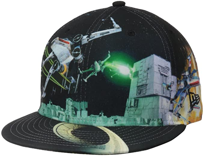 60c6114daef Amazon.com  New Era Men s Allover Battle X-Wing OTC Cap  Clothing