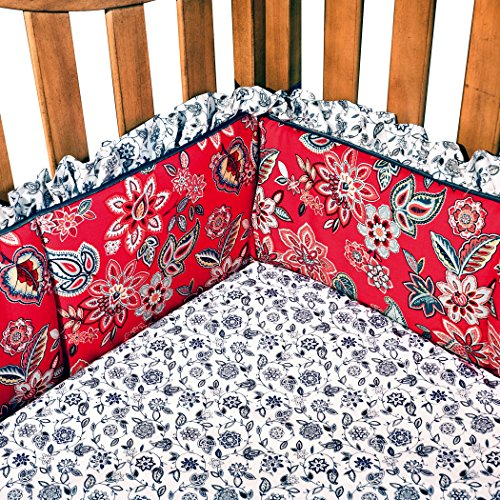 Premier Toddler Cot (Trend Lab Waverly Charismatic Crib Bumpers)