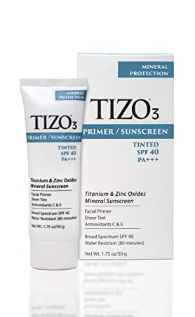 TIZO 3 Tinted Face Mineral SPF40 Sunscreen , 1.75 oz