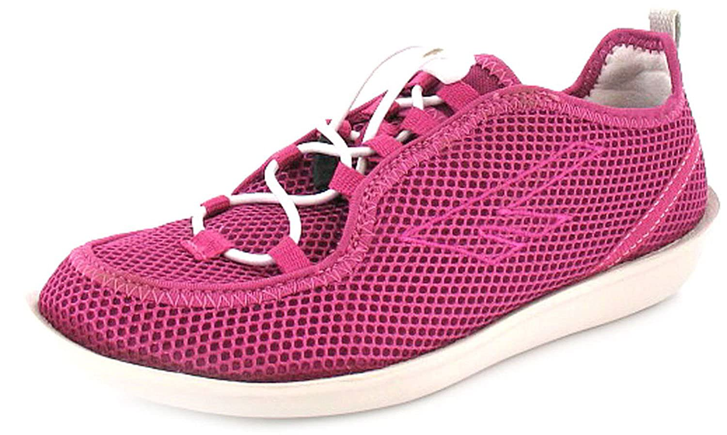 New Womens Ladies Pink White Hi-Tec Zuuk Lightweight Mesh Shoes - Pink Off  White - UK SIZE 8  Amazon.co.uk  Shoes   Bags 38493825bd