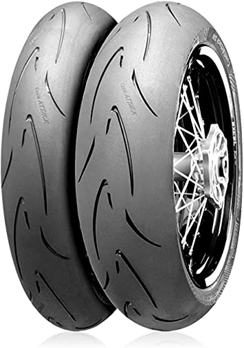 120//70HR17 Continental Attack SM Supermoto Radial Front Tire