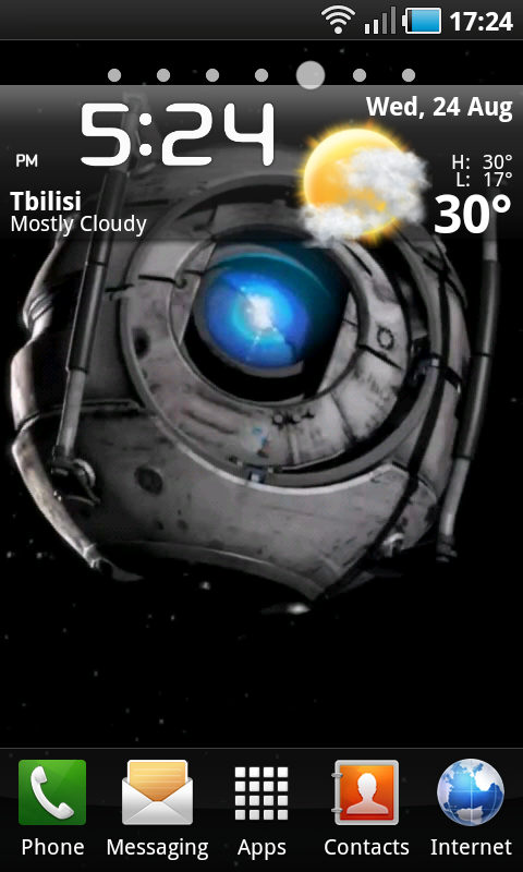Droid eye in space live wallpaper appstore for android - Droid live wallpaper ...