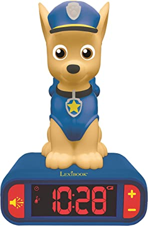 Amazon.es: LEXIBOOK integrada-RL800PA Chase, Patrulla Canina Reloj ...