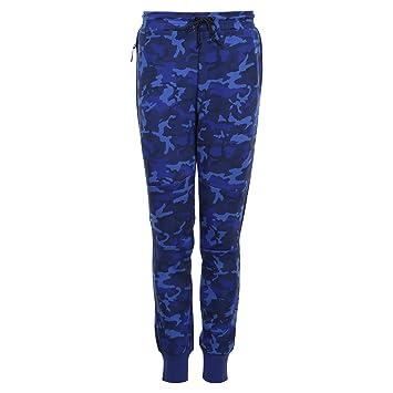 2597d0678f9b Nike Tech Fleece Camo Mens Pants (Blue Black) Medium682852-480  Amazon.ca   Sports   Outdoors