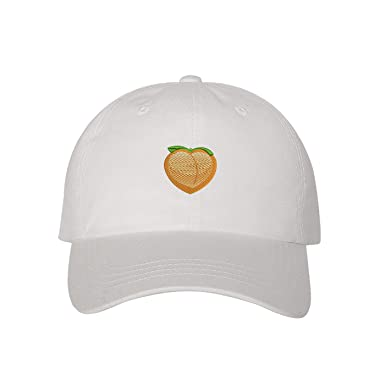 d82b0f59 Image Unavailable. Image not available for. Color: Prfcto Lifestyle Peach  Emoji Dad Hat ...