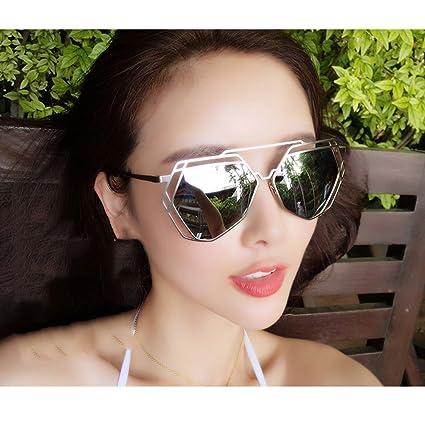 9ab6a41123 DT Gafas de Sol Femeninas Gafas de Sol polarizadas Gafas Coreanas Delgadas ( Color : 3