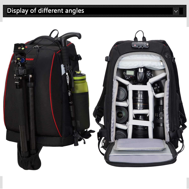 OBOC カメラバックパック デジタル一眼レフカメラ用 M  B07N77TJ6Q