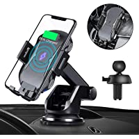 Sanceon Automatic Clamping Qi Wireless Car Charger