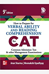 How to Prepare for Verbal Ability and Reading Comprehension for CAT | 9th Edition Kindle Edition