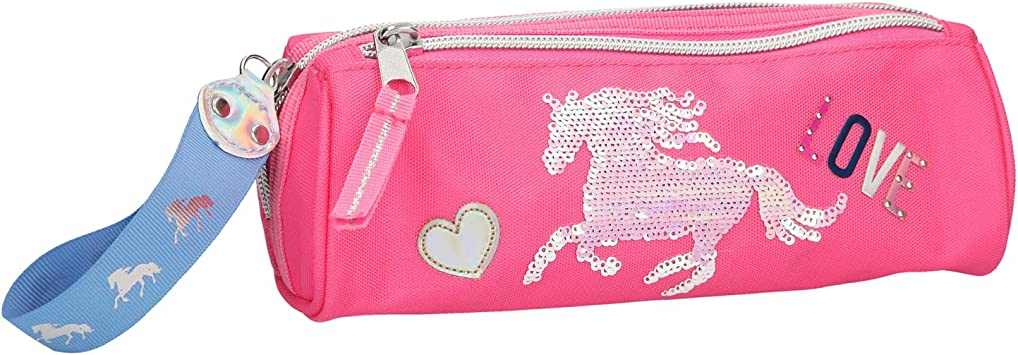 TOP MODEL- Estuche tubular Miss Melody rosa fucsia (0010606), Multicolor (DEPESCHE 1): Amazon.es: Juguetes y juegos