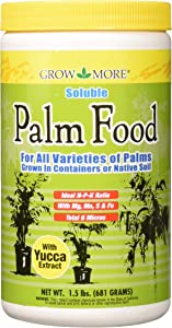 Grow More 5107 Soluble Palm Food 15-5-15, 1.5-Pound