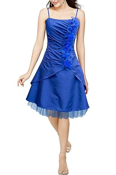 BlackButterfly Elsa Vestido De Corpiño De Satén Clarity (Azul Cobalto, ES 36 -