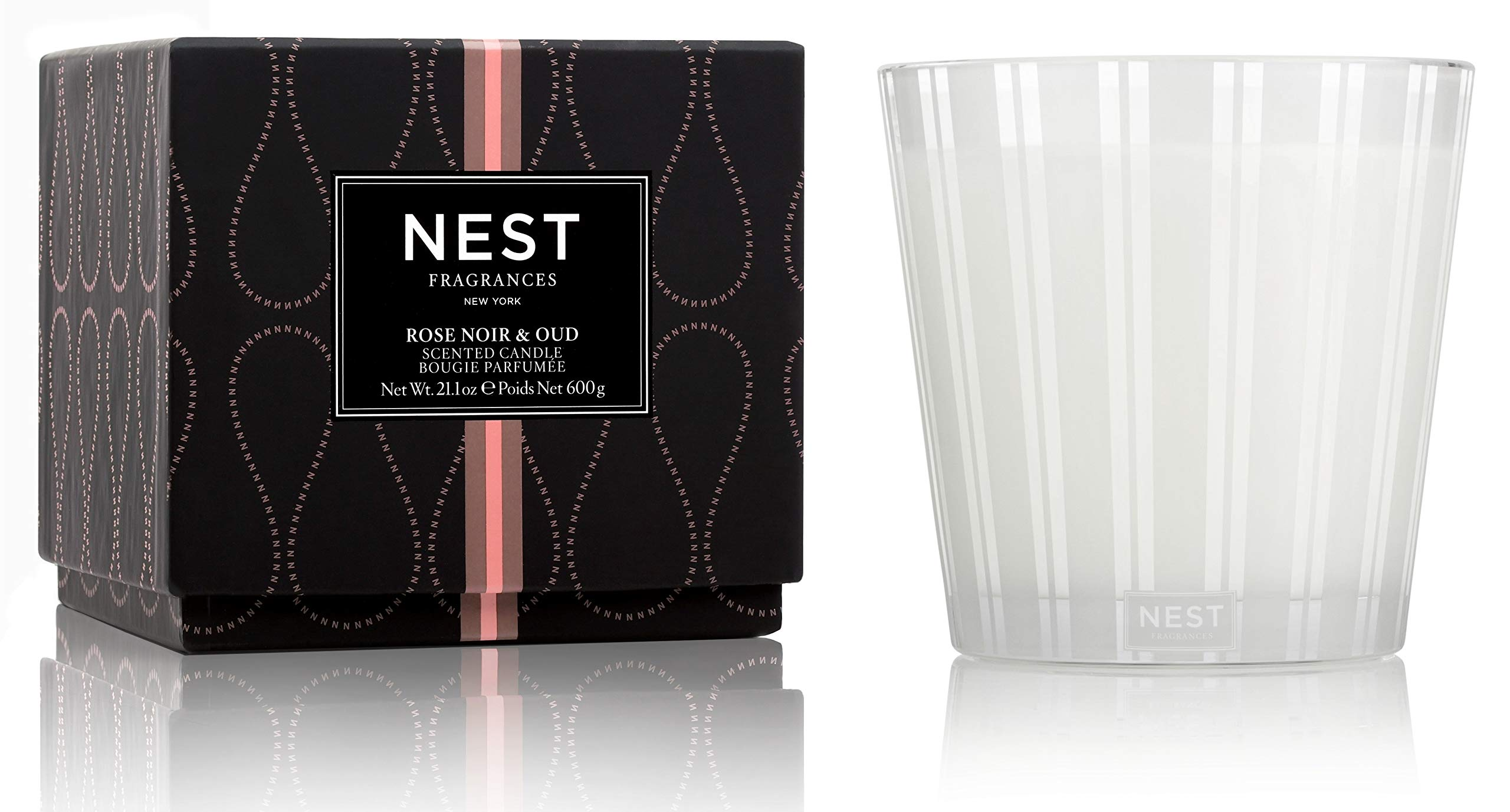 NEST Fragrances Rose Noir & Oud 3-Wick Candle