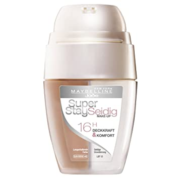 Amazon.com: Maybelline Super Stay 16H Make Up Foundation SPF12 ...