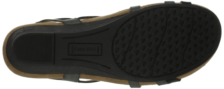 Cobb Hill Women's Hannah CH Wedge Sandal B00M1RK0Q4 6.5 B(M) US|Black