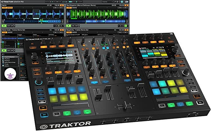 Amazon.com: Native Instruments Traktor Kontrol S8 consola ...
