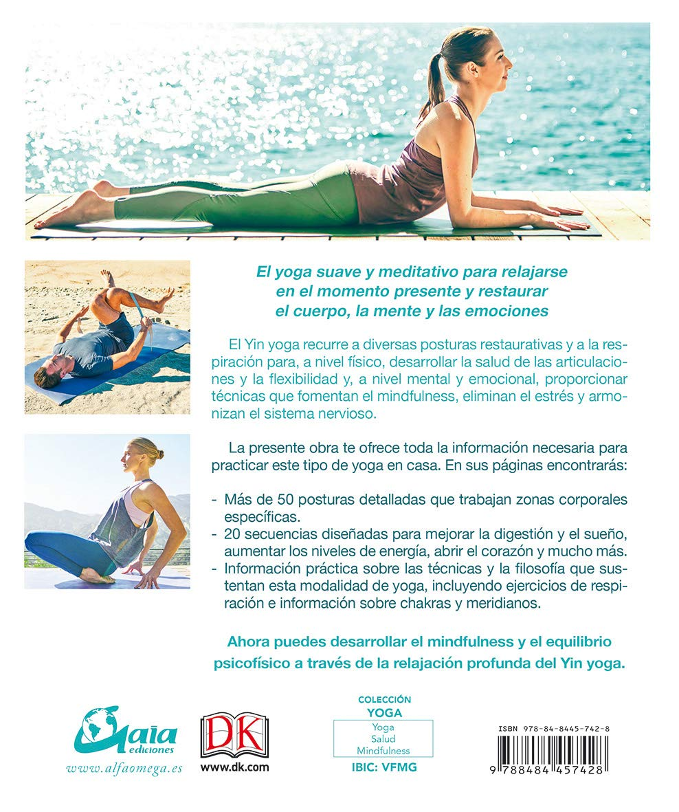 Yin Yoga: Kassandra Reinhardt: 9788484457428: Amazon.com: Books
