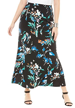 931d8af62c6 Jessica London Women s Plus Size Maxi Skirt at Amazon Women s Clothing store