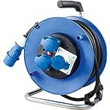 as – svabe CEE Caravan kabeltrumma 230 V – förlängningskabel trumma med CEE-kontakt och 25 m ledning – robust…