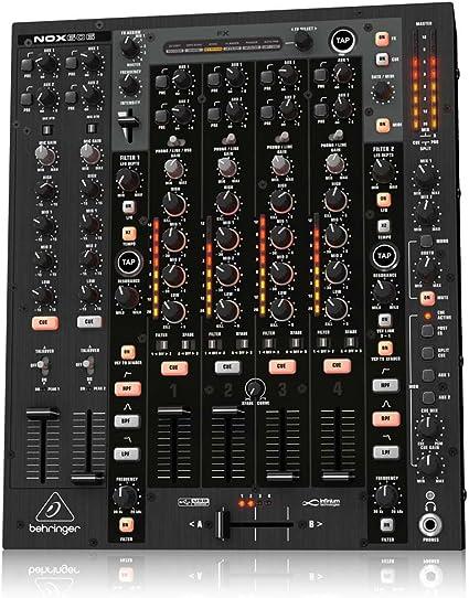 Amazon.com: Behringer nox606 Pro mezclador Premium 6-Channel ...