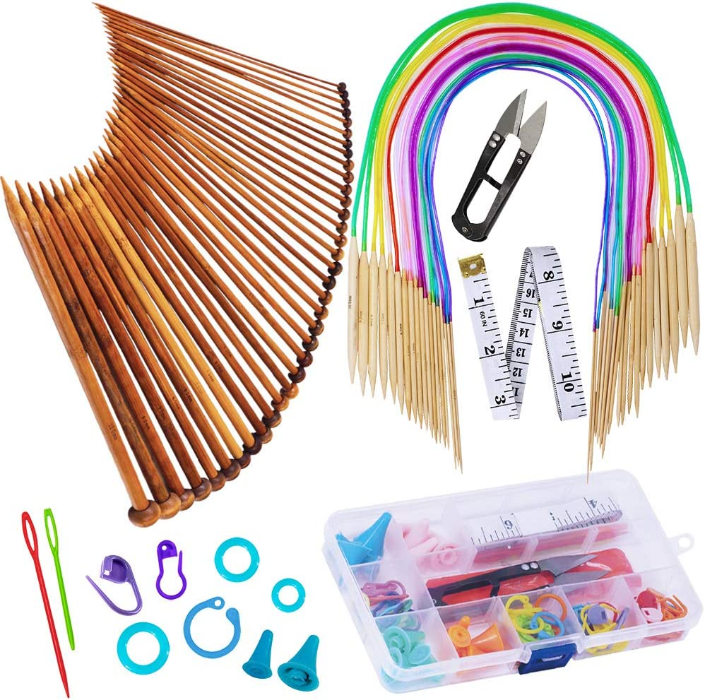The best combo- Exquiss Knitting Needle Set