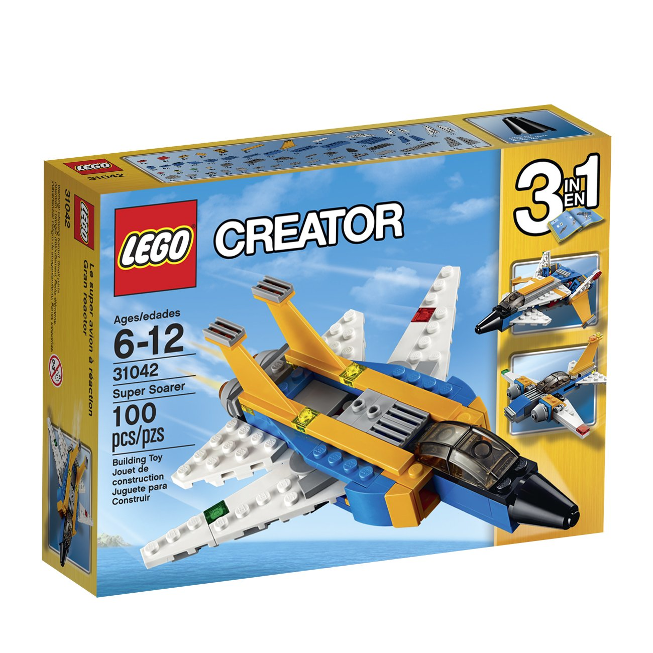 $9.67 (was $12.99) LEGO Creator Super Soarer Kit (100 Piece)