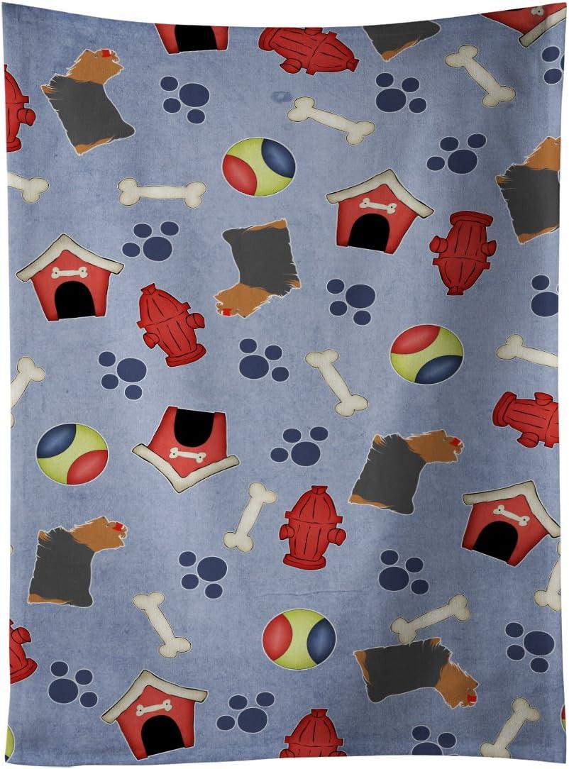 Amazon Com Caroline S Treasures Bb3934ktwl Yorkshire Terrier Yorkie Dog House Collection Kitchen Towel 15 X 28 Multicolor Kitchen Dining