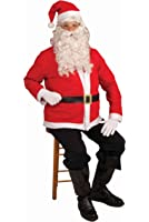 Forum Novelties Santa Claus Jacket and Hat Set