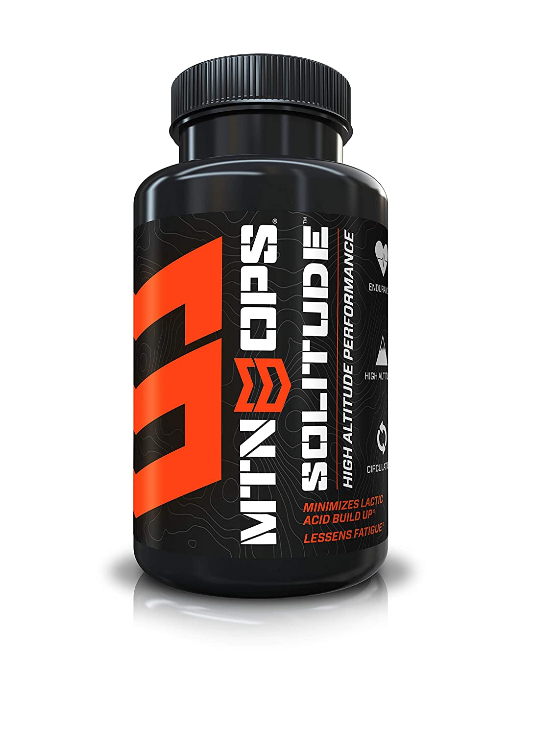 MTN OPS Solitude High Altitude Performance Respiratory Support Supplement – 25 Servings