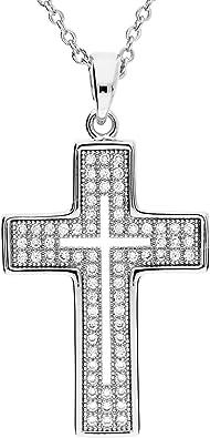 collier croix homme swarovski