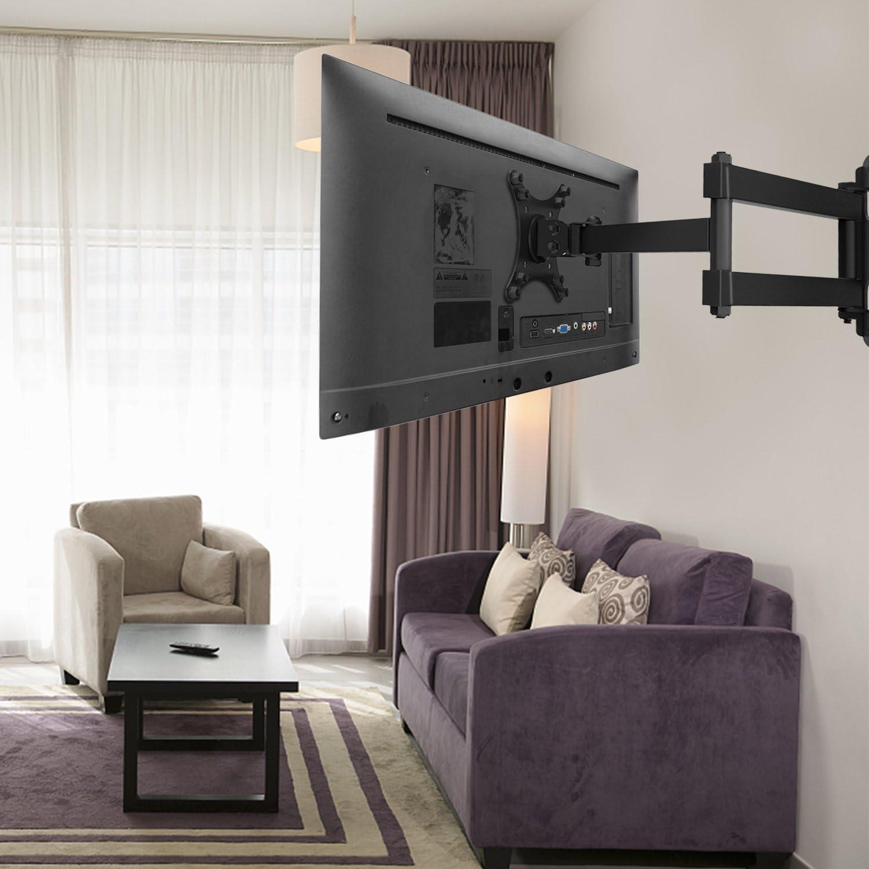 """TV Soporte de Pared para Pantalla Plana,para 23 – 55"""" TV (10-30 Inch/Swivel & Tilt): Amazon.es: Electrónica"""