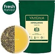VAHDAM, Green Tea Leaves from Himalayas (50 Cups), 100% Natural Tea, POWERFUL ANTI-OXIDANTS, Brew Hot Tea, Iced Tea or Kombu