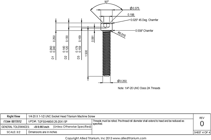 5//8 Height.187 Shank Diameter.437 Shank Length Squeezer DIE for Brazier Head Rivets with A .625 Head Diameter
