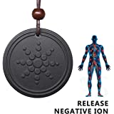 Generic Anti Radiation Shield EMF Neutralizer Negative Ions Energy Pendant Necklace Orgone Pendant