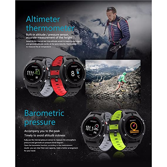 Amazon.com: F5 GPS Smart watch Altimeter Barometer ...