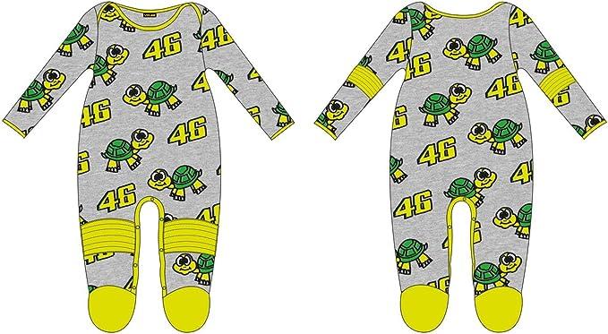 VR46 Pijama Pelele bebé Kid Valentino Rossi Tarta 46 TG. 12 Meses