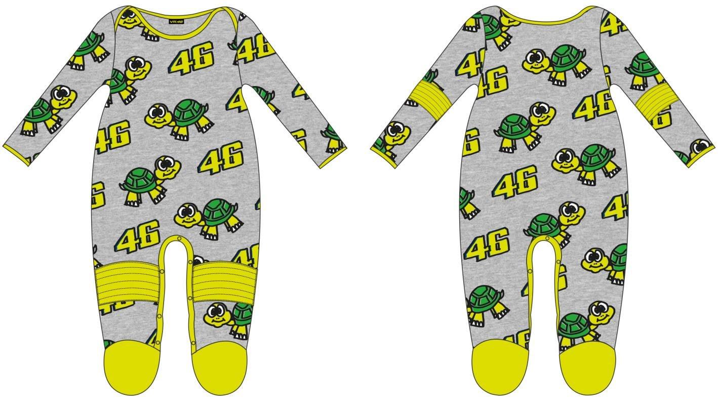 VR46 \'Pyjama grenouillè re Enfant Kid Valentino Rossi Tarta 46 TG. 6 Mois