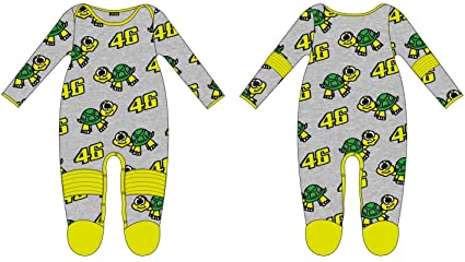 VR46 Pijama Pelele bebé Kid Valentino Rossi Tarta 46 TG. 6 Meses ...