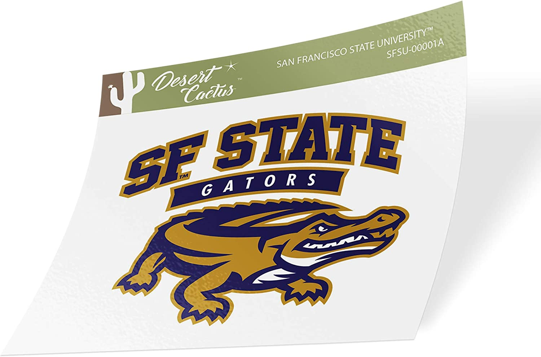 San Francisco State University SFSU Gators NCAA Vinyl Decal Laptop Water Bottle Car Scrapbook Sticker - 00001A