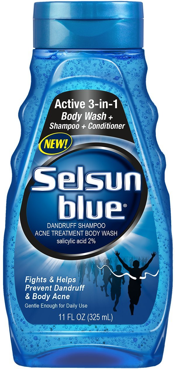 Selsun Blue Dandruff Shampoo, Acne Treatment Body Wash, 11 Ounce (Pack of 24) by Selsun Blue (Image #1)