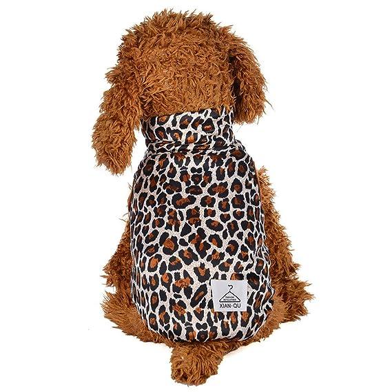 Ropa para Mascotas,Dragon868 Cool Moda Invierno Caliente Leopardo Camisa Impresa para Perros de Mascota: Amazon.es: Ropa y accesorios
