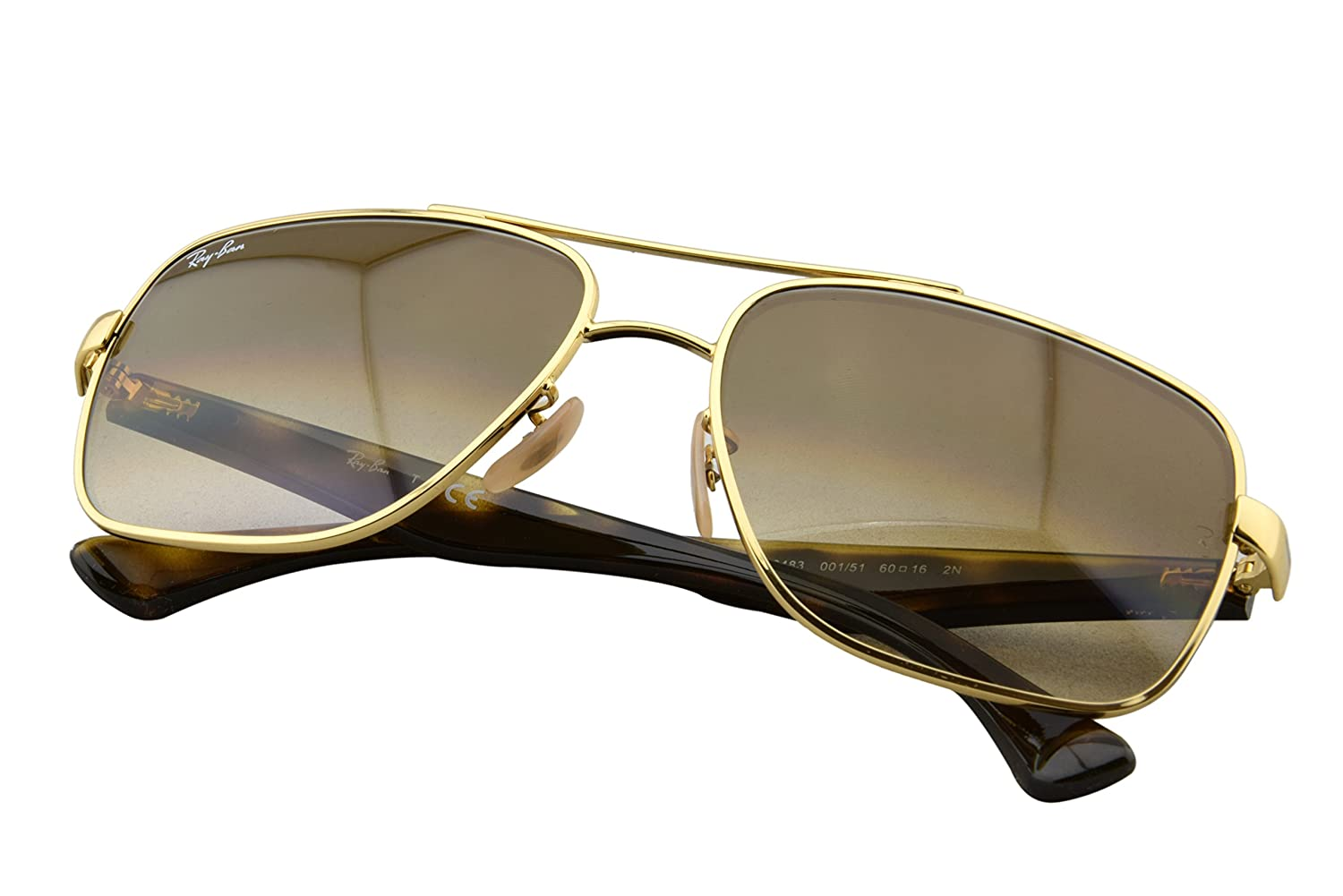 d94c09583a6 Amazon.com  Ray-Ban Men s RB3483 Square
