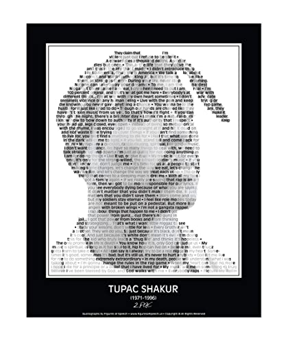 Inspirational 2pac/Tupac Quotes Poster. 2pac/Tupac Print made from Tupac  quotes! Tupac Wall Art. Home Decor. Print. 24\