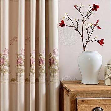 Verdunklungsvorhänge U0026amp; Drapes Tuch Fenster Behandlungen Fertige Produkt  Schlafzimmer Living Room Modern American Style Ländlichen