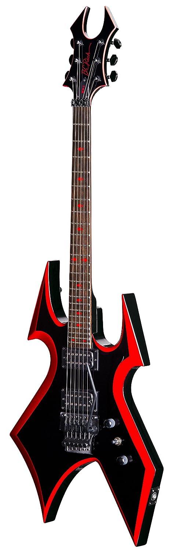 B.C. Rich - Guitarra eléctrica Mockingbird con diseño clásico de B y doble cierre de trémolo: Amazon.es: Instrumentos musicales