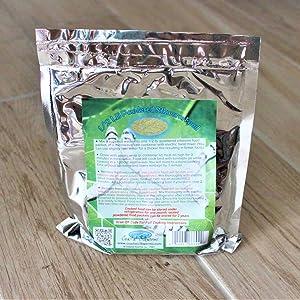 Coastal Silkworms 1/2 LB Powdered Silkworm Food (Mulberry Food) Silkworm Chow New 2021 Mix