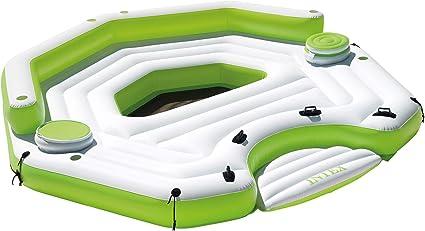 Amazon.com: Intex, isla flotante Key Largo inflable, con ...