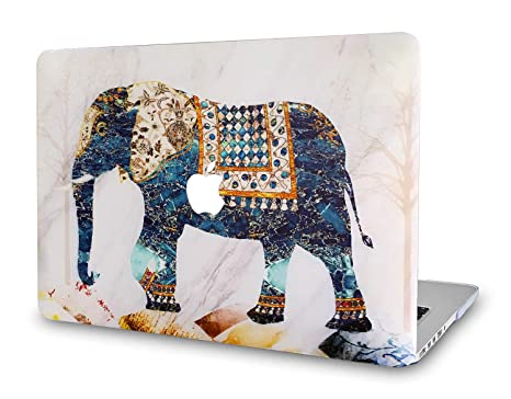 on sale 210dc 11ab9 New MacBook Air 13 Inch Case 2018 Release A1932, Onkuey Plastic Pattern  Rubberized Hard Shell Cover for Newest MacBook Air 13 Inch with Retina  Display ...